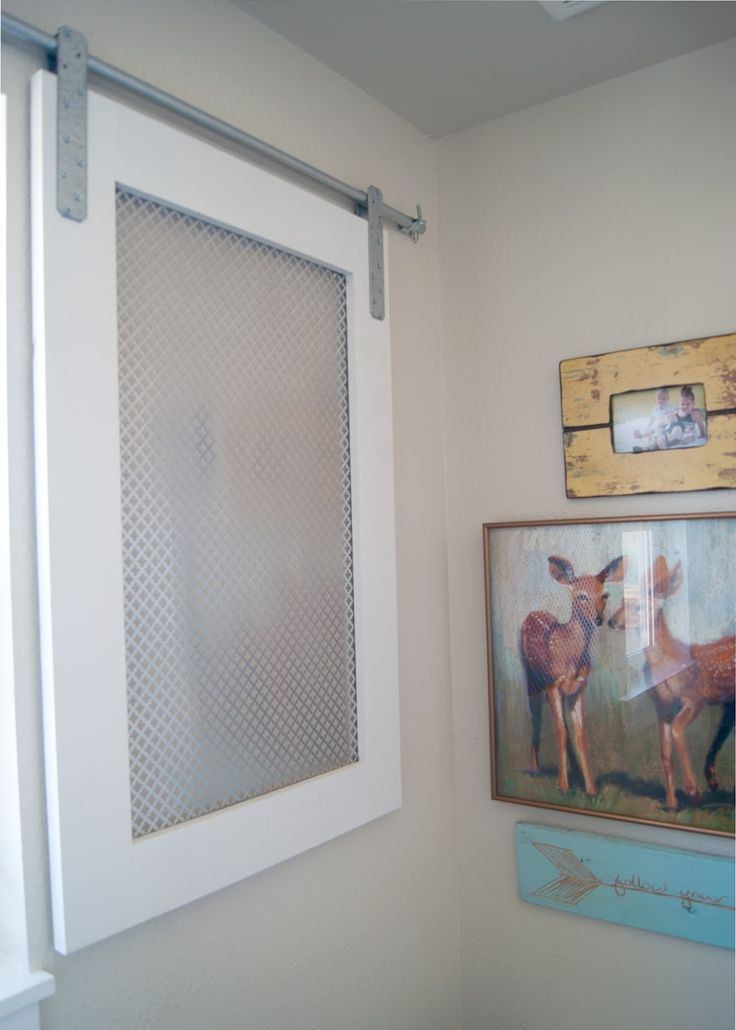 Image Gallery For Website DIY Barn Door Window Cover for the Bathroom a wood and metal barn door for