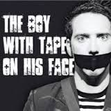 boy with tape on his face - Great Kiwi mime