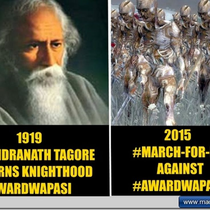 #irony  is when 1000 strong mob march in retort for 75 odd Indians returning their National Awards citing growing intolerance #awardwapasi  vs  #marchforIndia  http://bit.ly/mad151107