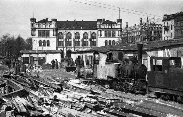 Plac Wolności, 1955, fot. Adam Feliks Czelny