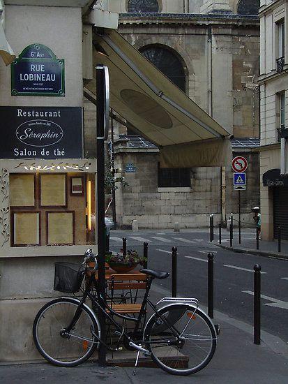 Saint Germain des Prés, rue Lobineau, Paris VI