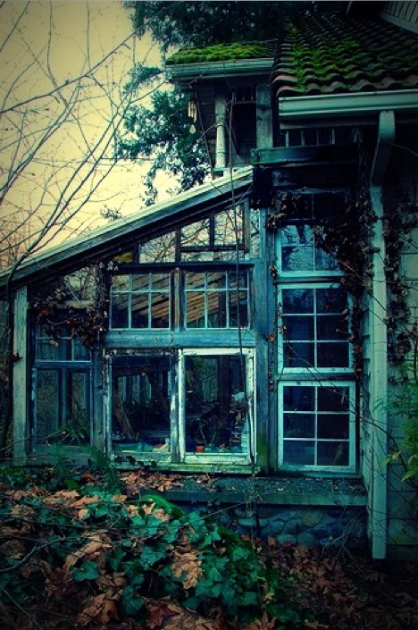 Writing inspiration abandoned spaces pinterest the old old cottage and the abandoned - The writers cottage inspiration by design ...