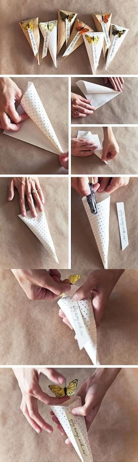DIY wedding treat. This would be great for our candy bar! :)
