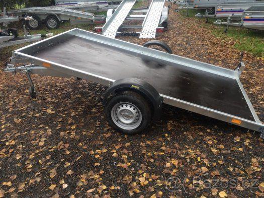 Přívěsný vozík plato vhodné na čtyřkolku 300 X 166 cm - 1