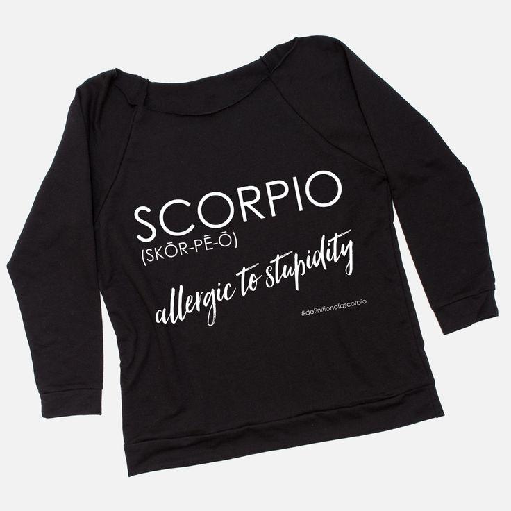 Definition of a Scorpio - Women's Raw Edge Raglan Shirt - scorpio quotes, scorpio zodiac, scorpio horiscope, scorpio women, scorpio life, scorpio love, scorpio season
