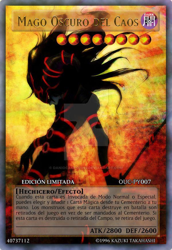 Dark Magician of Chaos - Mago Oscuro del Caos by DaniOcampo1992