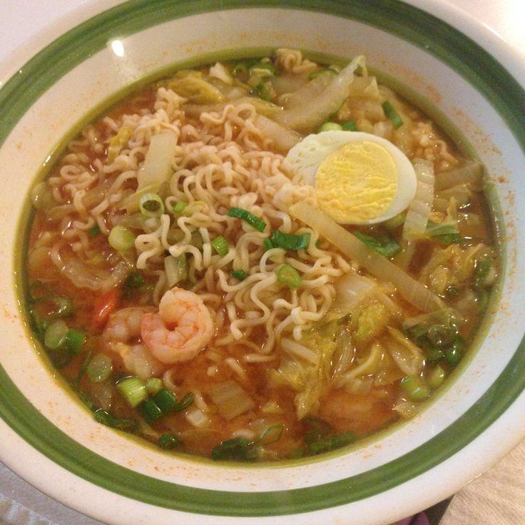 10-minute ramen noodles