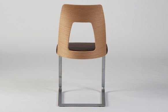 cantilevered dining chair