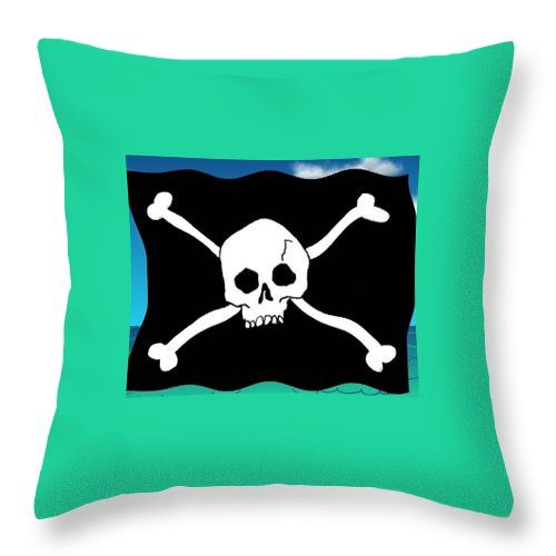 Pirate pillow ...