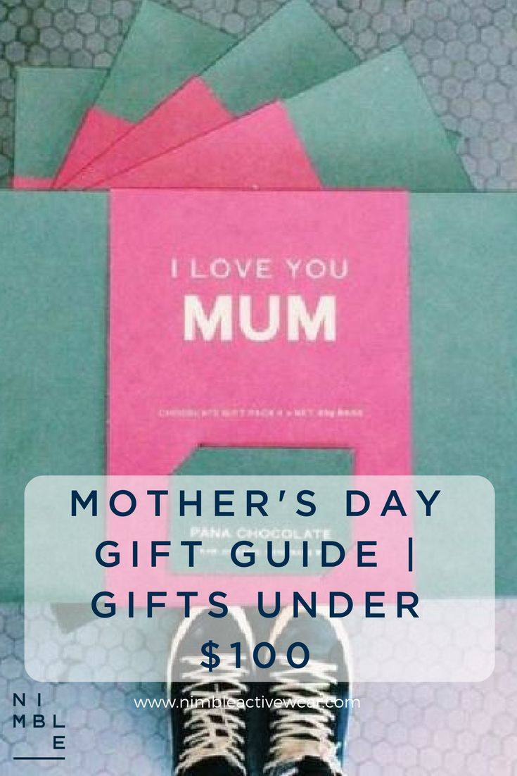 Mother's Day gift guide with a selection of gifts under $100AUD
