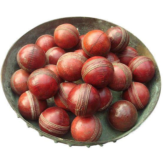 vintage leather cricket balls