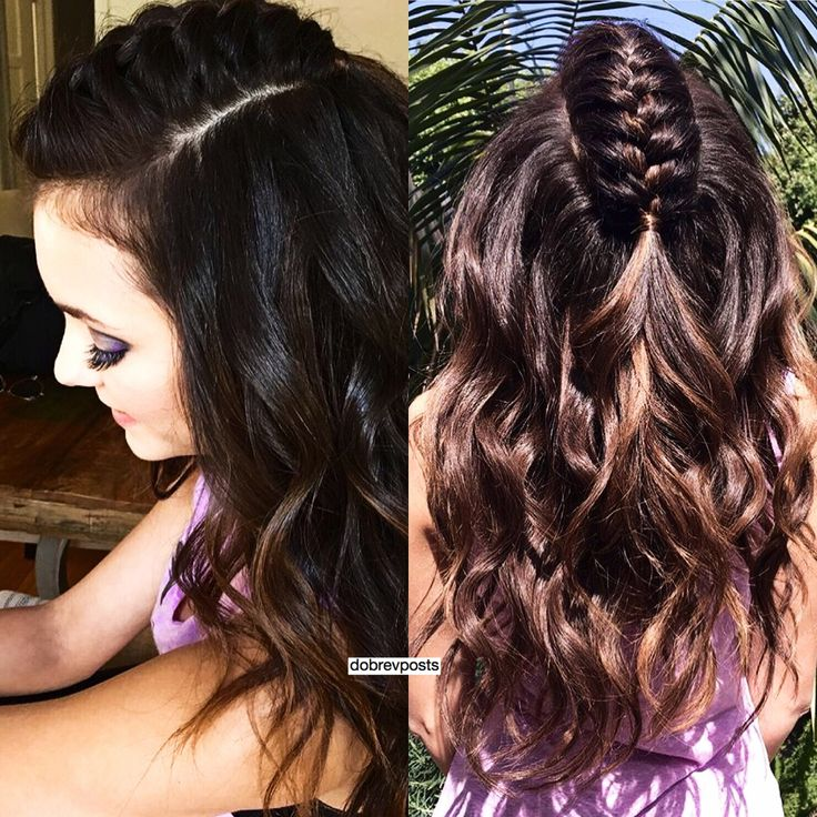 Nina Dobrev Unicorn Braid by Riawna Capri