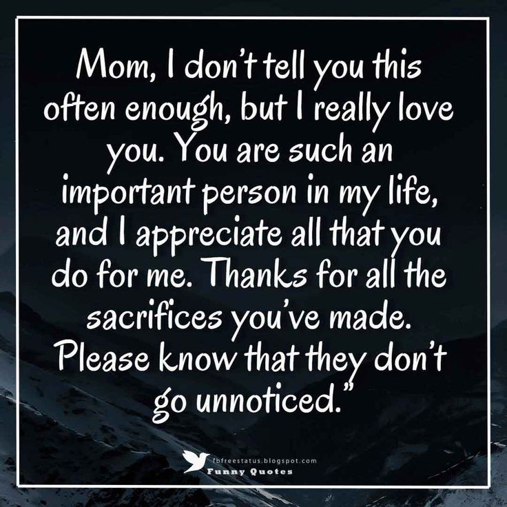 Best 25+ Thank You Mom Quotes Ideas On Pinterest