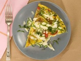 Garden Vegetable Frittata : Recipes : Cooking Channel