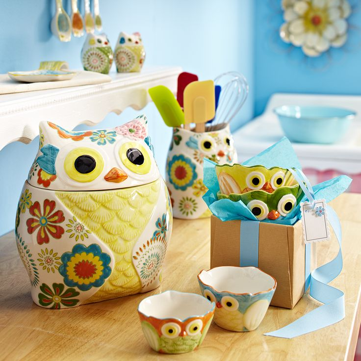 25 unique whimsical owl ideas on pinterest owl afghan Owl kitchen accessories