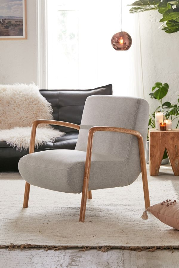 Cleo Lounge Chair Comfortable Accent Chairs Chic Living Room