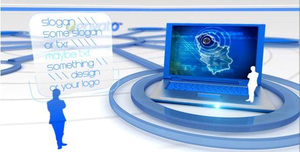 Elegant it video display presentation v2