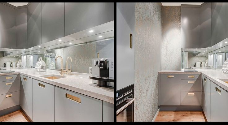 Decor Inspiration Colorful Kitchens That Work: The Color Code Is NCS 4000-N. A Neutral