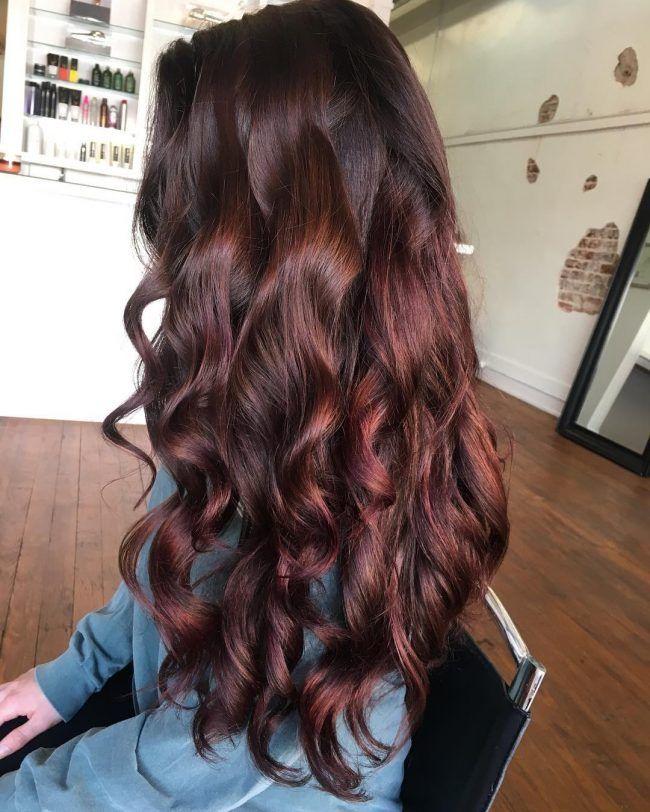 Reddish Brown Hair Color
