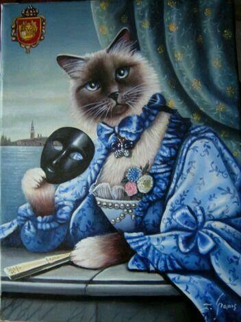 """#MundoAnimal ☆ Gato ☆ com...#Estilo & #Elegância e #Humor #irreverência #ironia """"Esse Gato Sou Eu"""" com Trocadilho, por Favor...rsrsrs."""