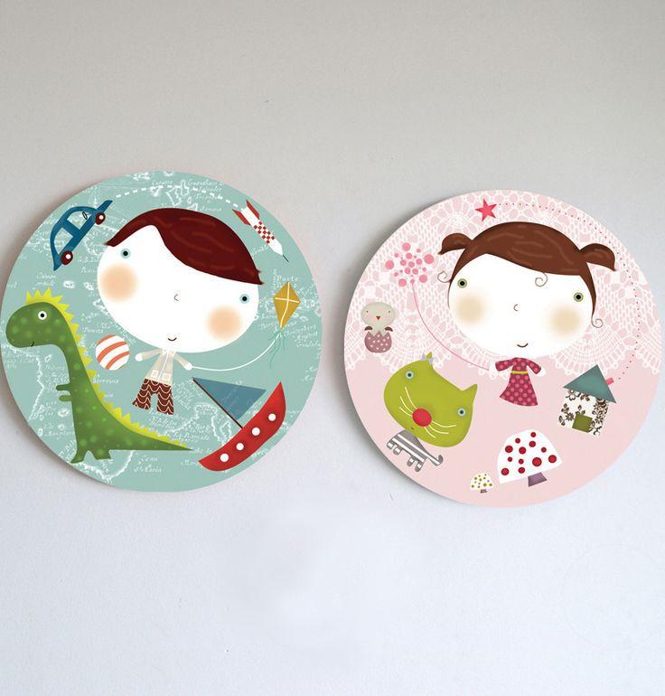 Cuadros infantiles-MIPLANETA- wall art