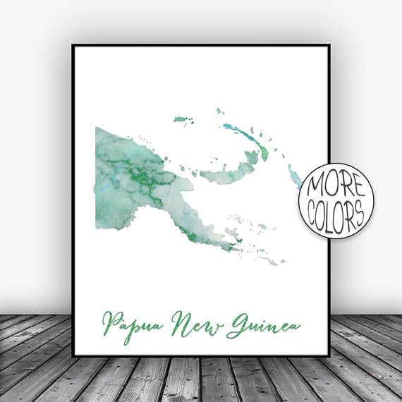 Papua New Guinea Art Print, Home Decor, Papua New Guinea Map Art, Wall Prints, Wall Art Home Wall Decor Living Room Decor, ArtPrintsZoe #ArtPrint #WallPrints #HomeDecor #HomeWallDecor #HomeDecorWallArt #LivingRoomDecor #WallArt #WallDecor #MapArt #ArtPrintsZoe