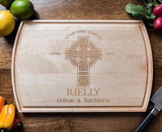 Personalized Celtic Cross Whiskey Decanter Irish Wedding Etsy Wood Anniversary Gift Anniversary Gifts For Husband Irish Wedding Gifts