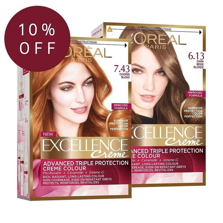 Save 10% on selected shades of Excellence Creme hair dye  http://ift.tt/2zb0aiH