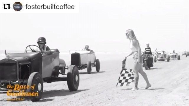 #tgif a little caffeine & gasoline to get you going. #trog this weekend. Nice clip by @fosterbuilt giving you a preview of the upcoming races. Good luck gentlemen and women.  #TheRaceofGentlemen #rebelrouserhotrods #hotrod #roddersjournal #caffeineandgasoline #wildwood #hotrodding #moto #roadster #stepbackintime #headsup  #Repost @fosterbuiltcoffee  Oh it's ON!! See you this weekend!! Visit the @hdmuseum for the special #trog exhibition. Films by @fosterbuilt