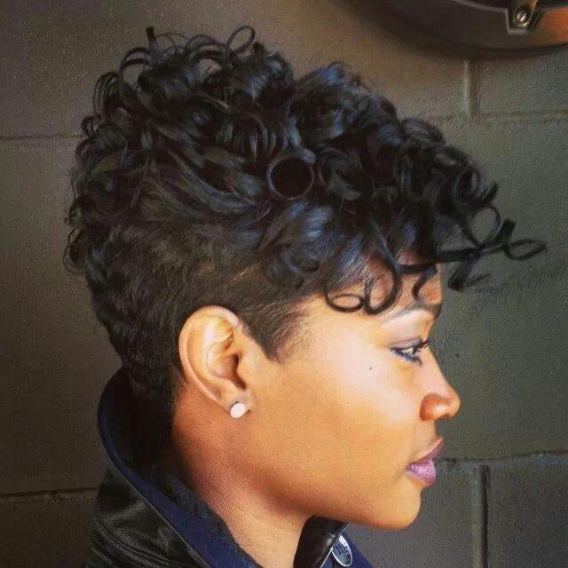 Love the curls Like A River Salon | Operation Haircut