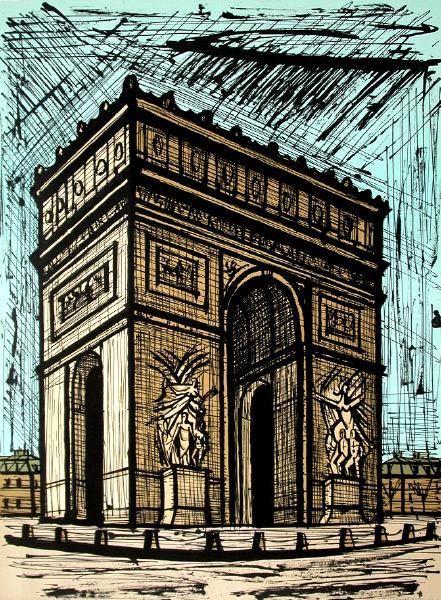 Paris l'Arc de Triomphe. Google Image Result for http://static.picassomio.com/images/art/pm-48780-large.jpg