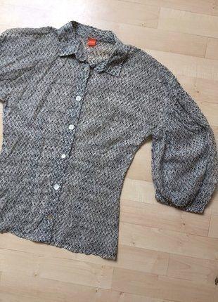 Kupuj mé předměty na #vinted http://www.vinted.cz/damske-obleceni/s-three-fourths-rukavem/15811024-nadherna-lehka-halenka-s-balonovymi-rukavy-hugo-boss