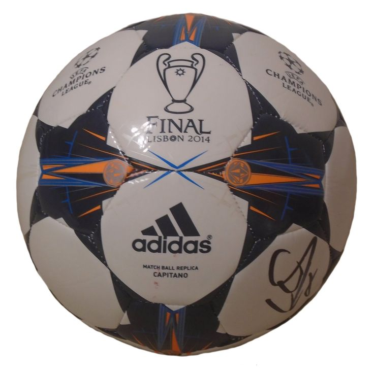 David Villa Autographed 2014 UEFA Champions League Lisbon Final Logo Soccer Ball, Proof. David Villa Signed UEFA Champions League 2014 Lisbon Final LogoSoccer Ball, Spain, Espana, New York City FC, Proof Photo  This is a brand-new David Villaautographed 2014 EUFA Champions League 2014 Lisbon Final logo Adidassoccer ball.The soccer ball is size 5. Davidsigned the soccer ballin blacksharpie. Check out the photo of Davidsigning for us. Please click on images to enlarge. Please browse…