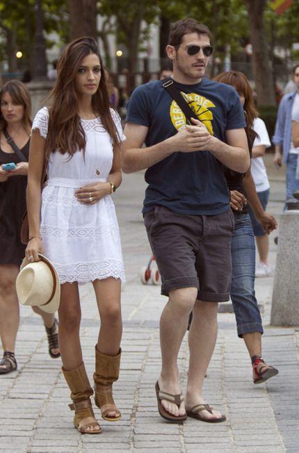 Sara and Iker