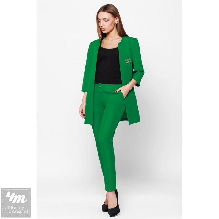 """Костюм Leo Pride «Лада KL417» (Светло зеленый) http://lnk.al/402L  Деловой строгий женский костюм """"Лада"""" для деловых встреч и офисного Dresscode.  #костюм #костюмы #костюмчик #топ #новинки #одежда #наряд #одеждаУкраина #4m #4m.com.ua"""