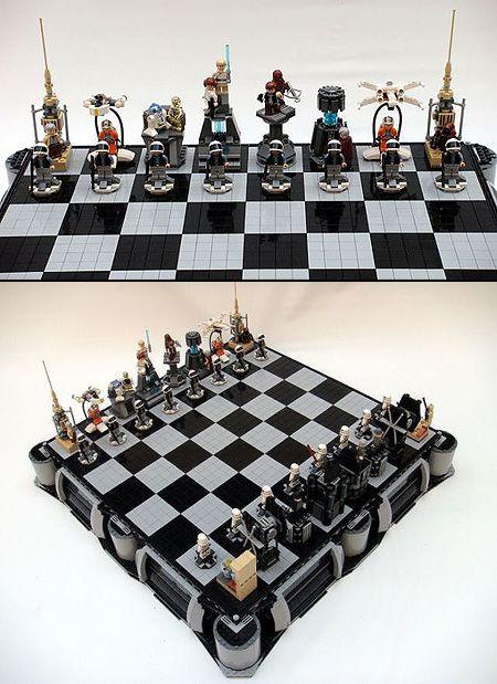 Lego Star Wars chess