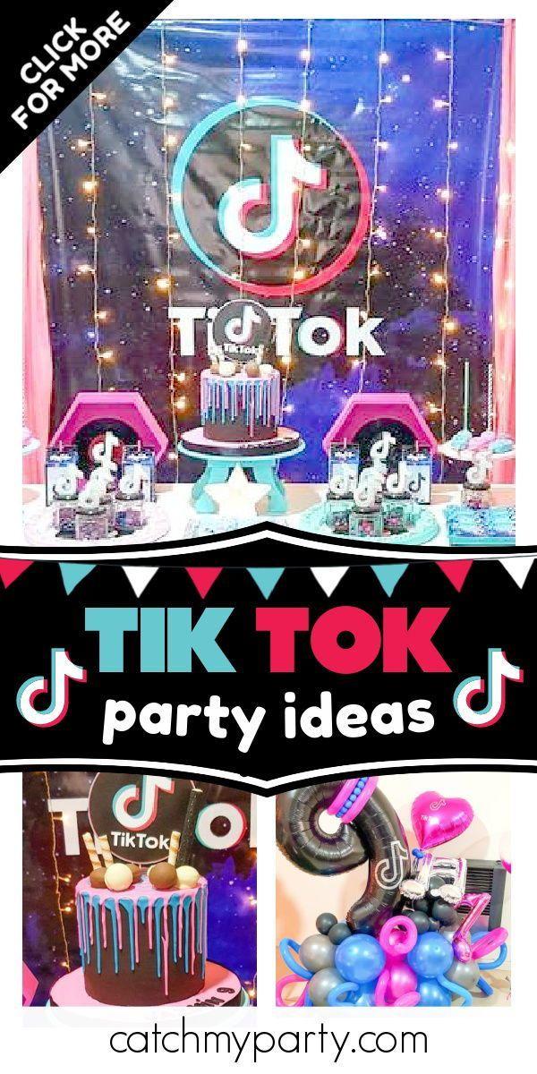 Tik Tok Birthday Tik Tok Birthday Party Catch My Party Girls Birthday Party Themes Catch My Party Birthday Party Activities