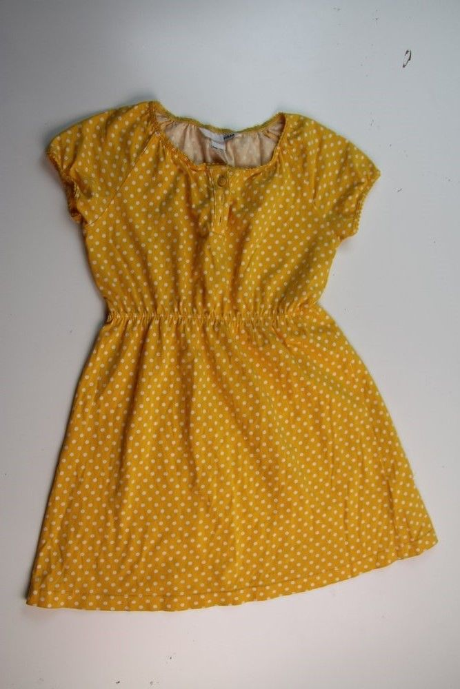 Yellow Polkadot Summer Dress Size 5/6 by H&M, only $4.50. ~~~~~~~~FlipSize Canada - Gently Used Kid's Clothes at 40-90% off ~~~~~~~~