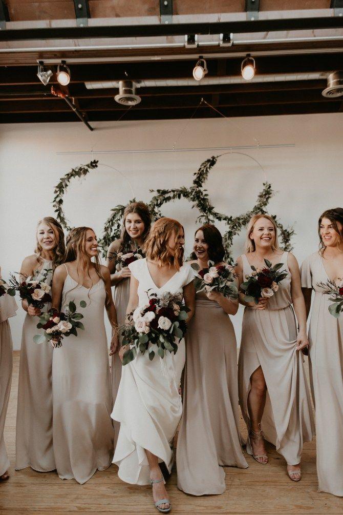 Oklahoma Wedding Neutral Bridesmaid Dresses Long Bridesmaid Dresses Champagne Bridesmaid Dresses