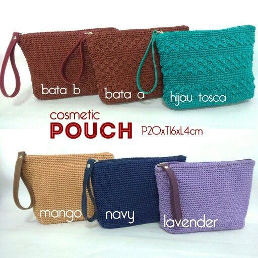 Crochet pouch / wrislet IG: kanayubag_store