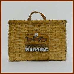 Wall Basket - I'd Rather Be Riding