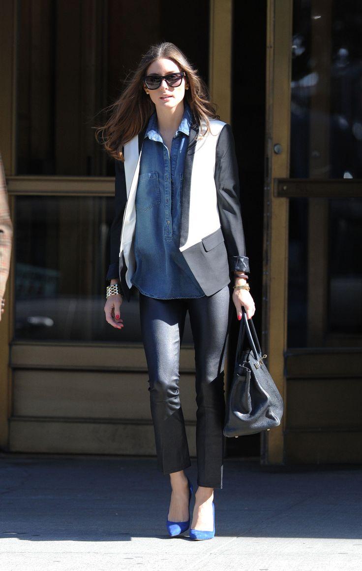 Olivia Palermo, estilo masculino!!!