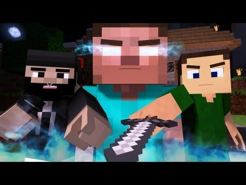 """The Miner"" - A Minecraft Parody of The Fighter by Gym Class Heroes (Music Video)"