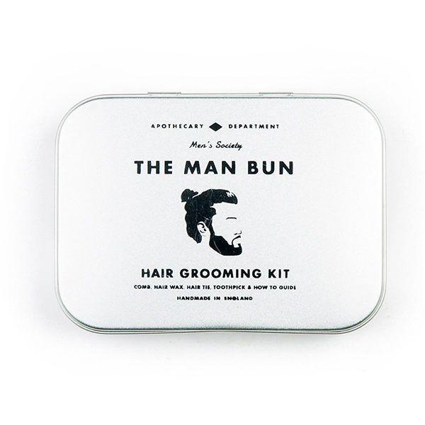 Kit peinado Man Bun de Men´s Society.  #manbun #peinado #cabello #hairkit #kitpeinado #grooming #mengrooming #johnscarestore #cuiadohombres #cuidado