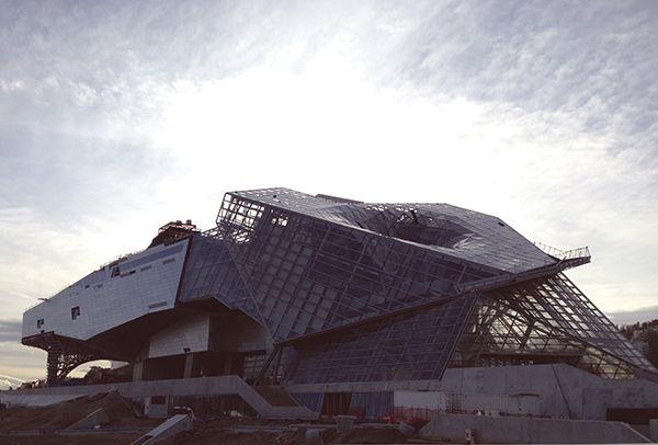 Il Musée des Confluences di prossima apertura, photo credit Angela De Gregorio