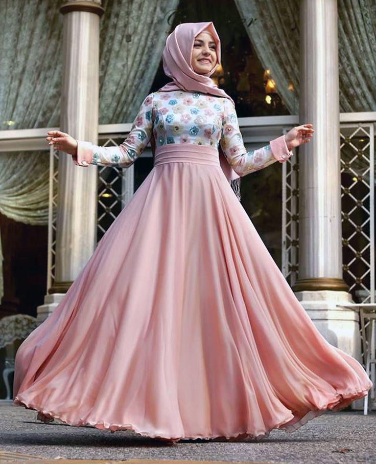 Bayramlık kapalı elbise modelleri - http://www.modelleri.mobi/bayramlik-kapali-elbise-modelleri/