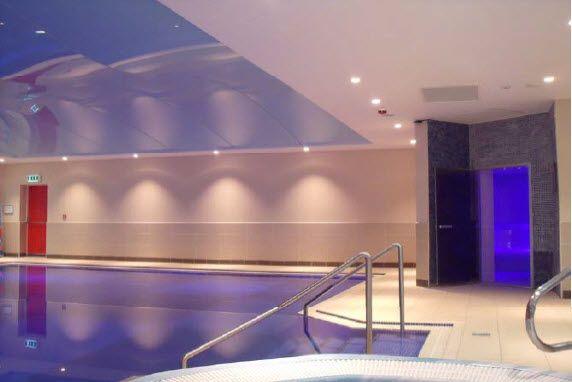 12 best images about leisure lighting on pinterest for Sport swimming pool design