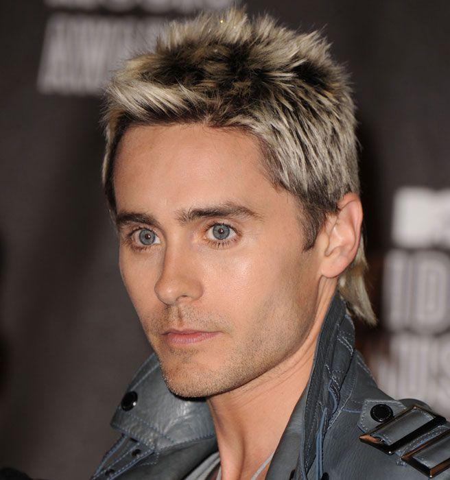 Incredible Bleached Tips Jared Leto And Adam Levine On Pinterest Hairstyles For Women Draintrainus