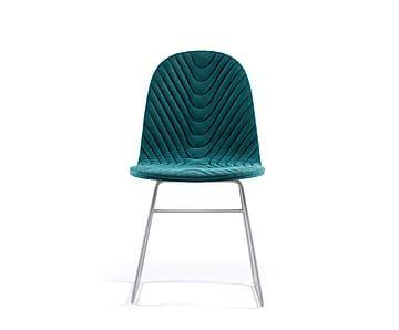 """Krzesło pikowane w jodełkę """"Mannequin II"""""""