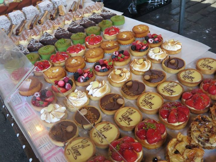 Anisha was literally in dessert heaven in #Paris. She was definitely spoilt for choice here!